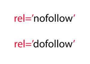 dofollow and nofollow links